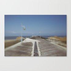 Henlopen Pier Canvas Print