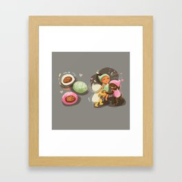 Mochi Babies Framed Art Print