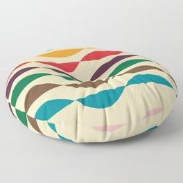 Summer waves Floor Pillow