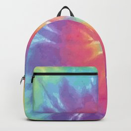 Faded Spiral Tie Dye Backpack