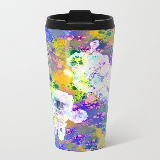 Psychedelic Space Metal Travel Mug