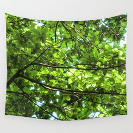 Leaf roof Wall Tapestry