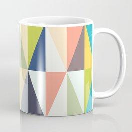 Abstract Geo Diamonds Coffee Mug