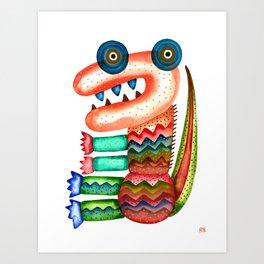 Tyrannosaurus Art Print