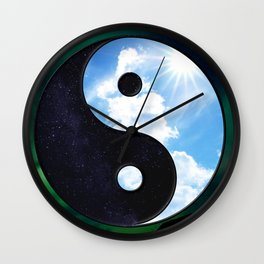 NATURE'S BALANCE Wall Clock