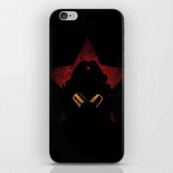 SuperHeroes Shadows : WonderWoman iPhone & iPod Skin