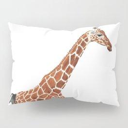 Giraffe Art - A Mother's Love - By Sharon Cummings Pillow Sham