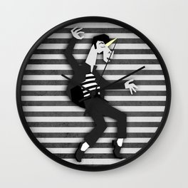 Jailhouse Unicorn Wall Clock