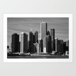 Chicago Skyline 2010 Art Print