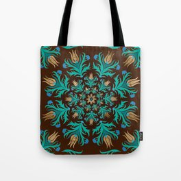Turkish tulip - Ottoman tile 17 Tote Bag