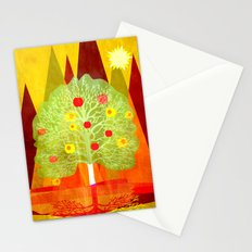 Summer Tree Stationery Cards