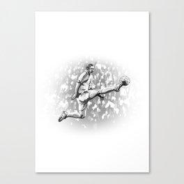 Zinedine Zidane - Real Madrid Canvas Print