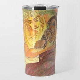 Dionysus and Ariadne Travel Mug