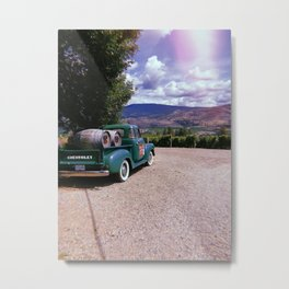 Antique Truck Metal Print