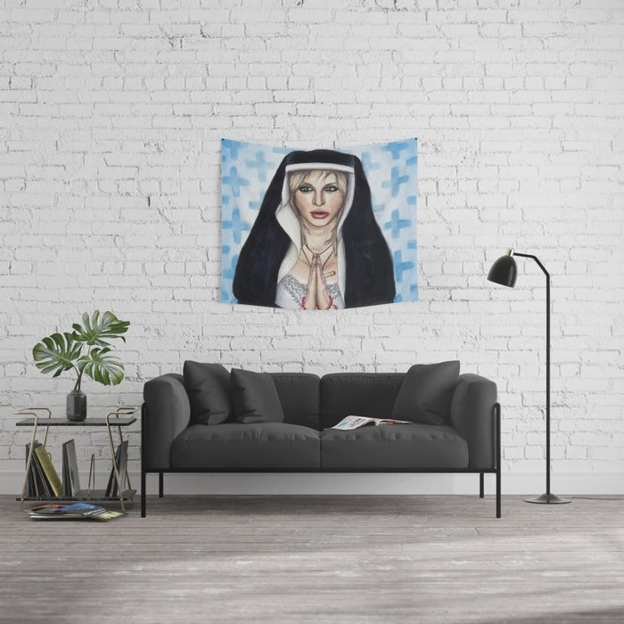 Courtney: The Nun Wall Tapestry