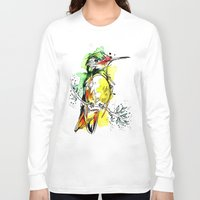 lime Long Sleeve T-shirts featuring Lime Hummer by Abby Diamond