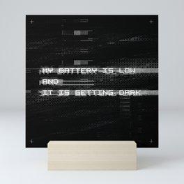 Getting Dark Mini Art Print