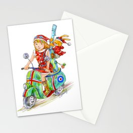 We are the Mods! (Christmas version) Stationery Cards