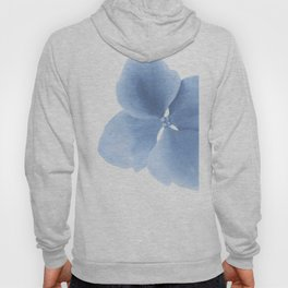 Pansy Flower. Big blue flower Hoody