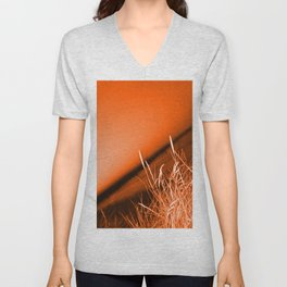 Sunrise over Southwald UK beach Unisex V-Neck
