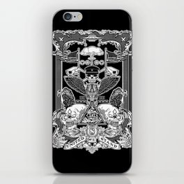 THE POLITICS OF GREED iPhone Skin