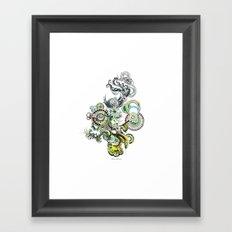 bouquet 2 Framed Art Print