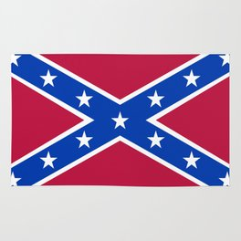 Confederacy Naval Jack Rug