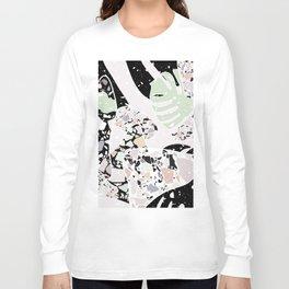 Abstract Terrazzo I. Long Sleeve T-shirt
