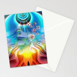 6 Language of Light Base Chakra Symbols Stationery Cards