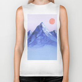 Shades of Mountain Majesty Biker Tank