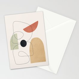 Minimal Shapes No.51 Stationery Cards