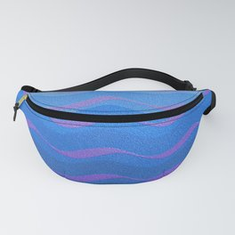 BLUE WAVE Fanny Pack