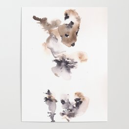 The Dancer - 151124  Abstract Watercolour Poster