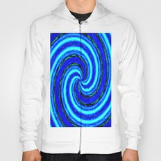 Abstract Blue Modern. Hoody