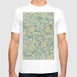 Jasmine by William Morris T-shirt