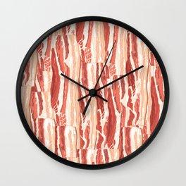 Bacon pattern Wall Clock