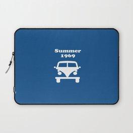 Summer 1969 - blue Laptop Sleeve