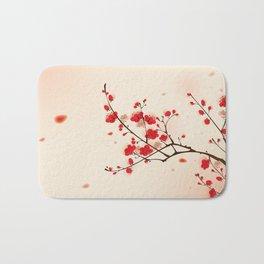 Oriental plum blossom in spring 009 Bath Mat