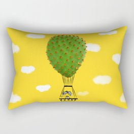 air balloon cactus Rectangular Pillow