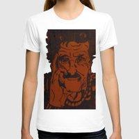 vonnegut T-shirts featuring Kurt Vonnegut, Jr. by Emily Storvold