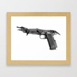 CROCO Framed Art Print