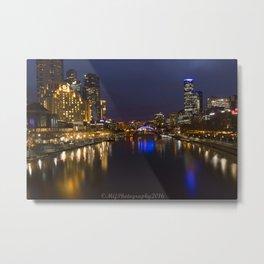 Travel: Melbourne CBD, Australia Metal Print