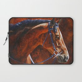 Hanoverian Warmblood Sport Horse Laptop Sleeve