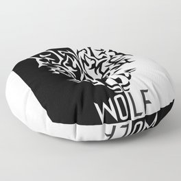 Alpha Wolf Floor Pillow