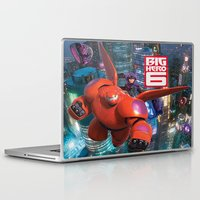 big hero 6 Laptop & iPad Skins featuring Big Hero 6  by store2u