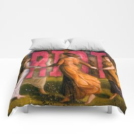 Women's March Comforters