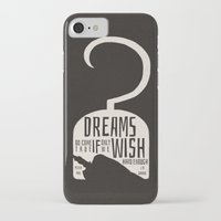 peter pan iPhone & iPod Cases featuring Peter Pan  by Abbie Imagine