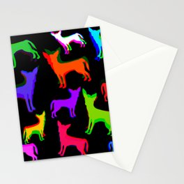 Chihuahua Pattern Stationery Cards