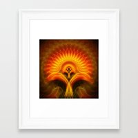tree of life Framed Art Prints featuring Life Tree by Christine baessler