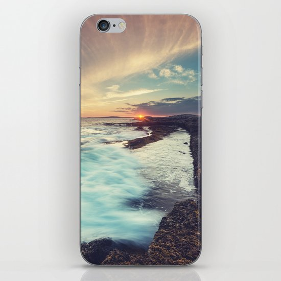 Setting over Surf iPhone & iPod Skin